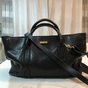 REBECCA MINKOFF - leather satchel crossbody